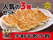 【栃木】宇都宮餃子館 人気の3種セット